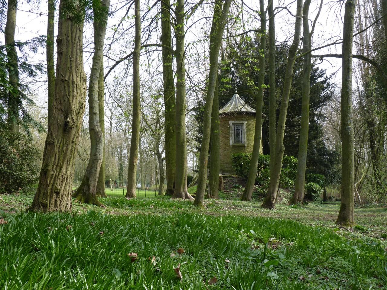 châtenay en france - parc historique